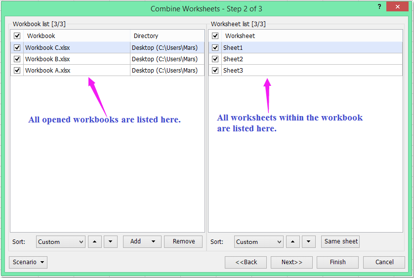 Quickly Merge Combine Worksheets Or Workbooks Into One Workbook In