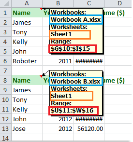 Quickly combine multiple worksheets / ranges from workbooks into one ...