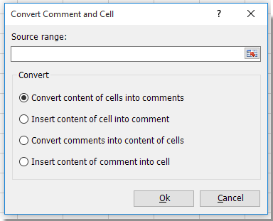 shot convert between comment and cell 2