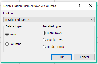 shot delete blank hidden rows columns 002