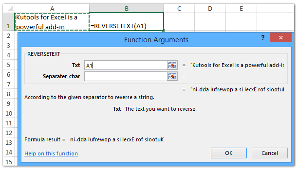 how to reverse order excel
