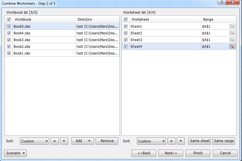 Quickly summarize / calculate data from multiple worksheets into ...